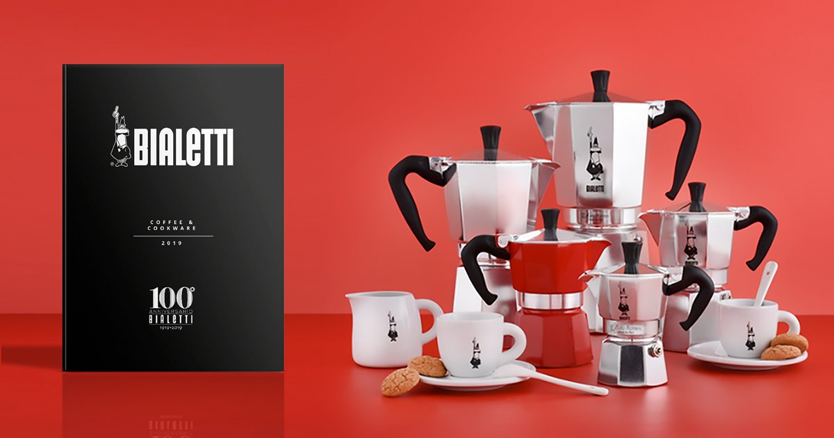 Catálogo Cafeteras Italianas Bialetti 2019