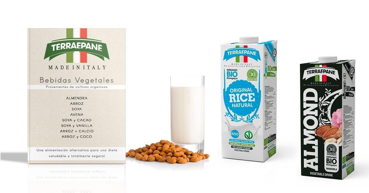 Catálogo Bebidas Vegetales Italianas marca TerraePane