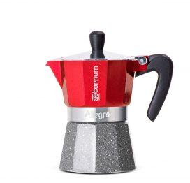 Cafetera Italiana Alegra rojo 3 tazas