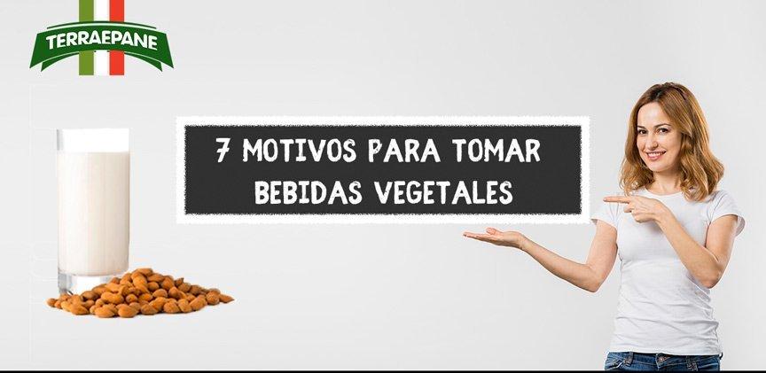 Motivos para tomar bebidas vegetales almendras o arroz