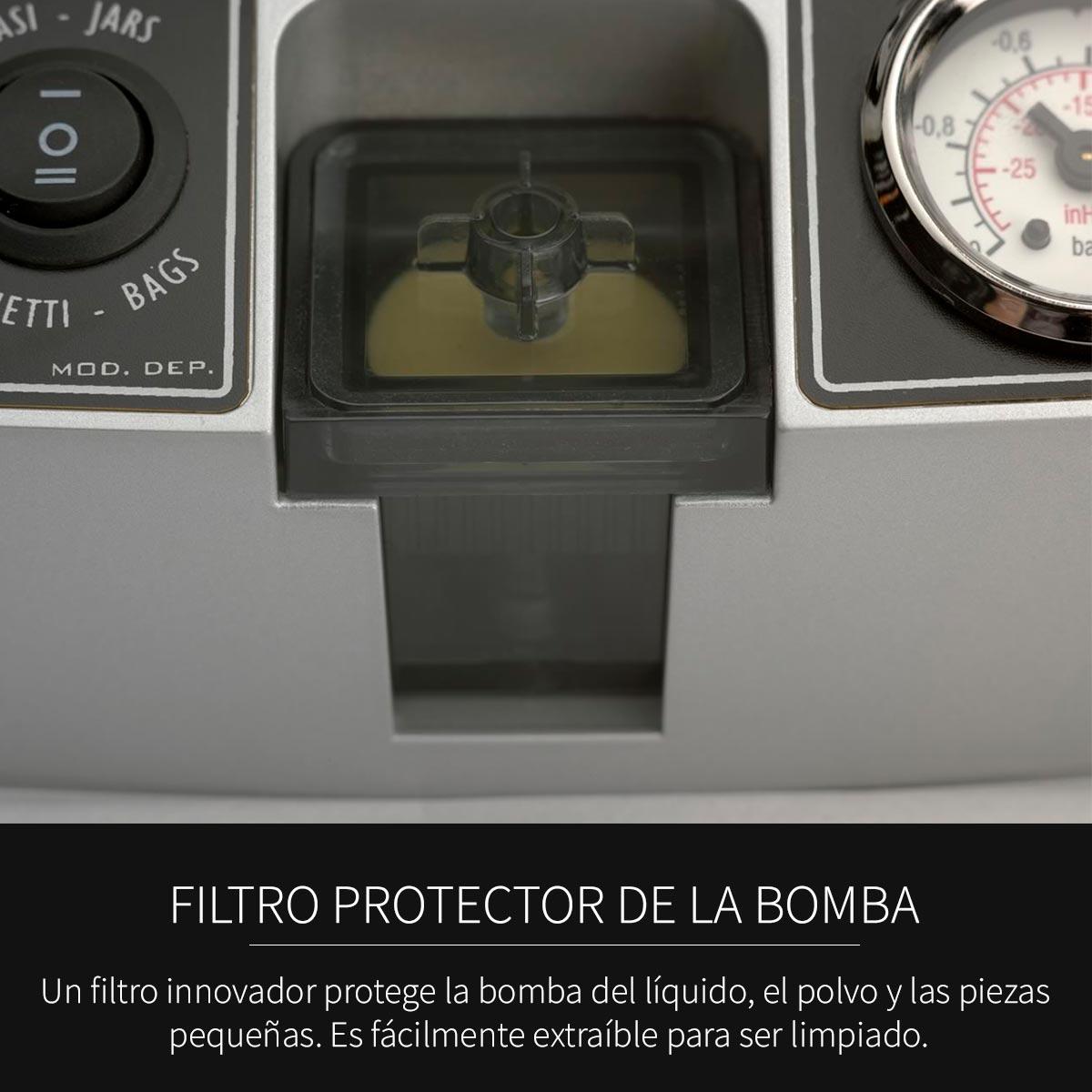 Filtro Protector Máquina Envasadora al Vacío Modelo Nevada SICO