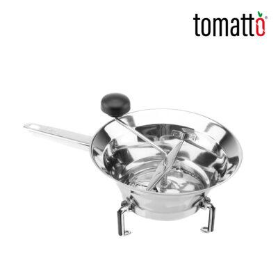 Pasaverduras de Acero Inoxidable Marca Italiana Tomatto