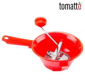 Pasaverduras de Plástico Marca Italiana Tomatto
