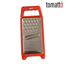 Rallador Minerva Multifunción de Acero Inoxidable Marca Italiana Tomatto