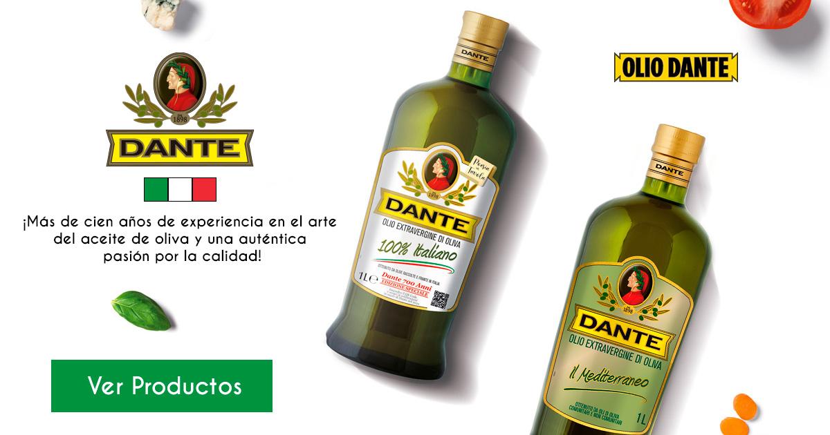 Homepage Slider Aceite de Oliva Extra Virgen Dante